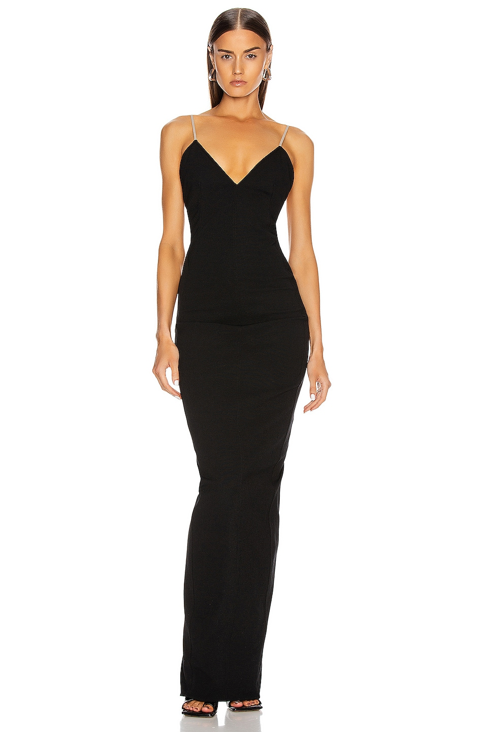 Image 2 of Rick Owens Maillot Gown in Black