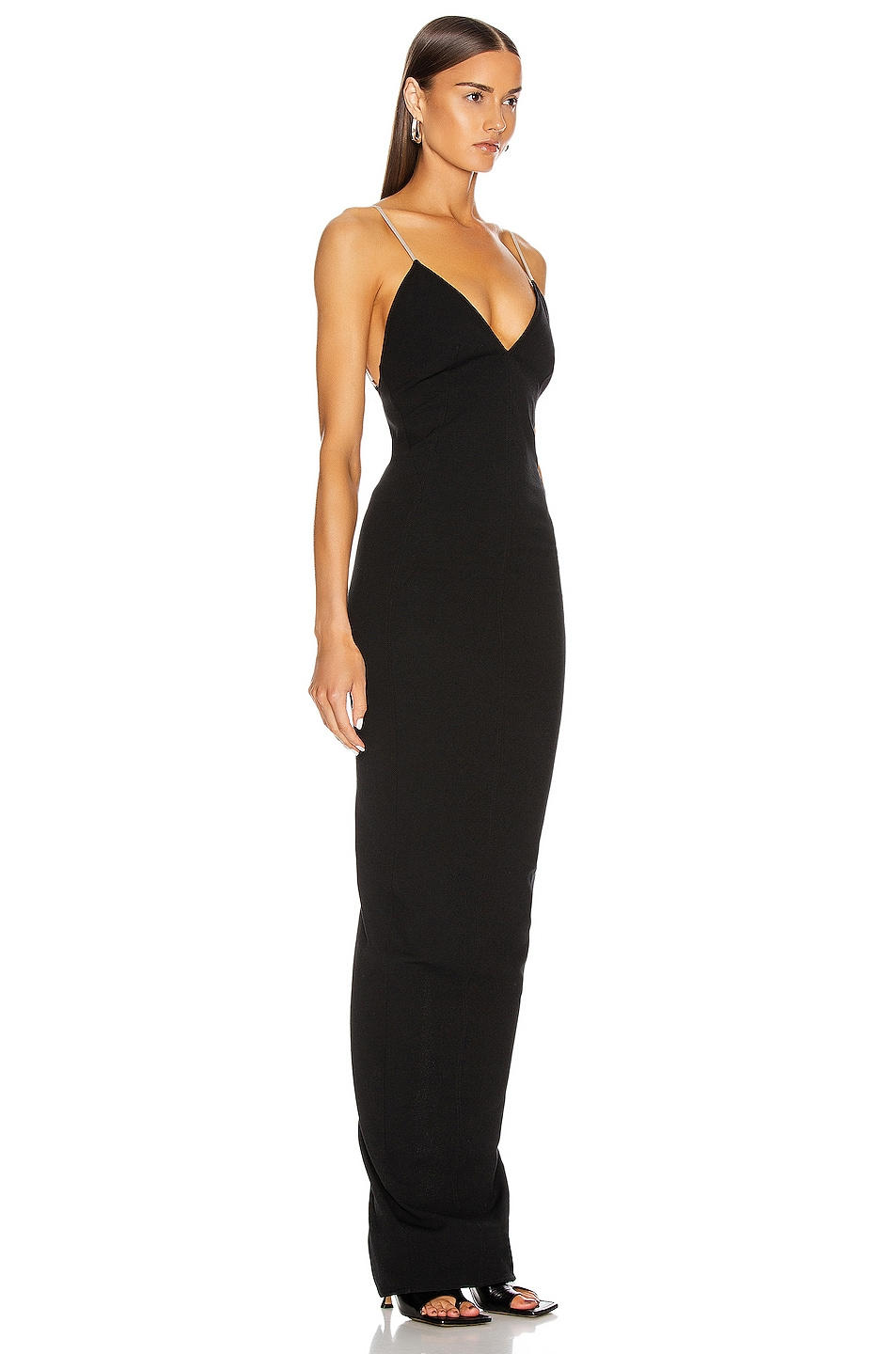 Image 3 of Rick Owens Maillot Gown in Black