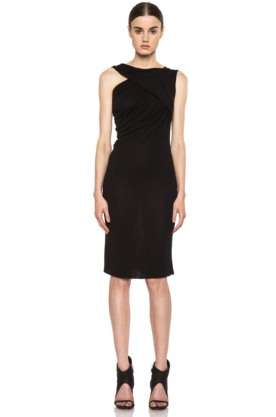 Image 1 of Rick Owens Naska Dress in Black