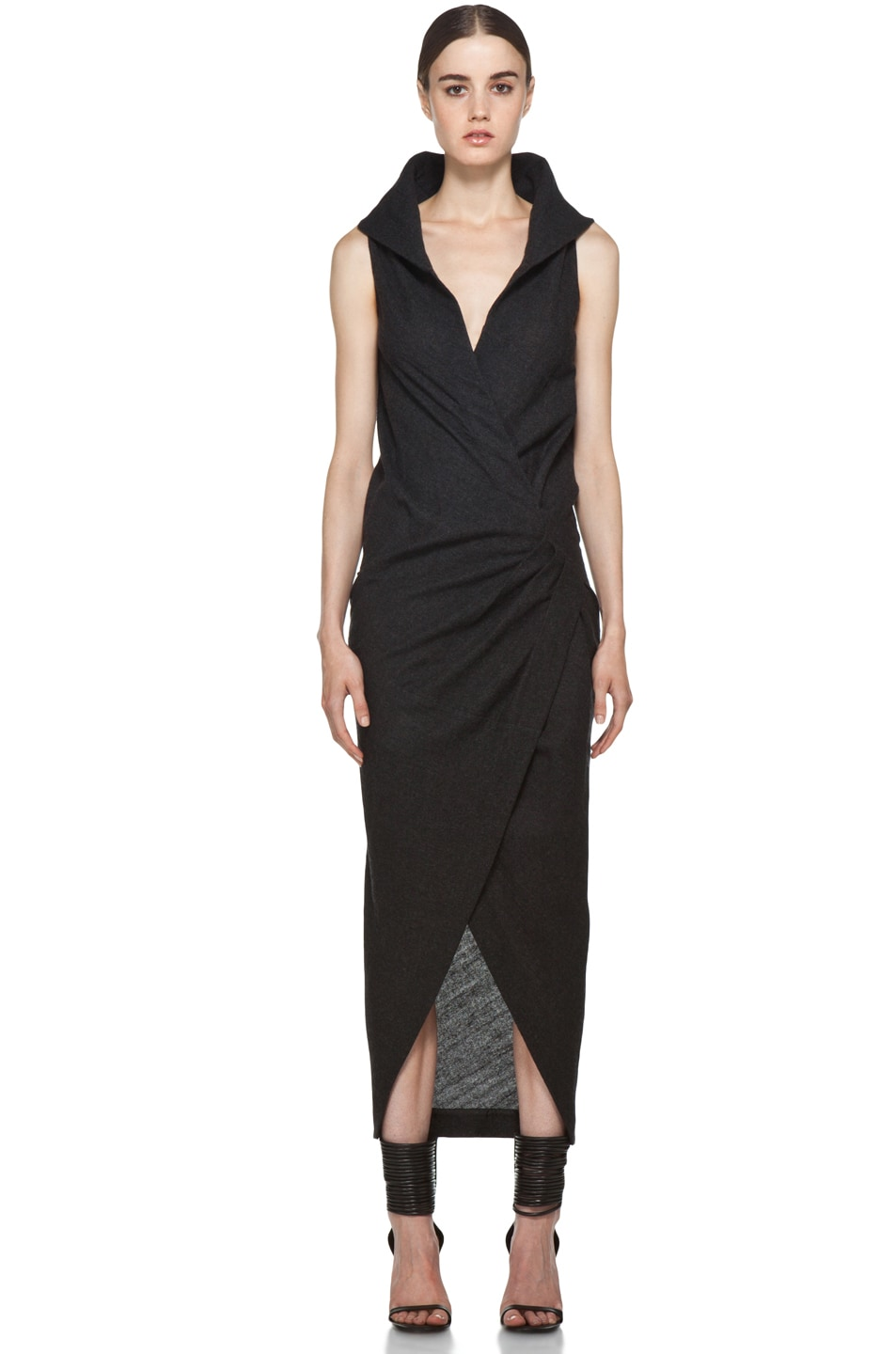 Image 1 of Rick Owens Marella Dress in Black