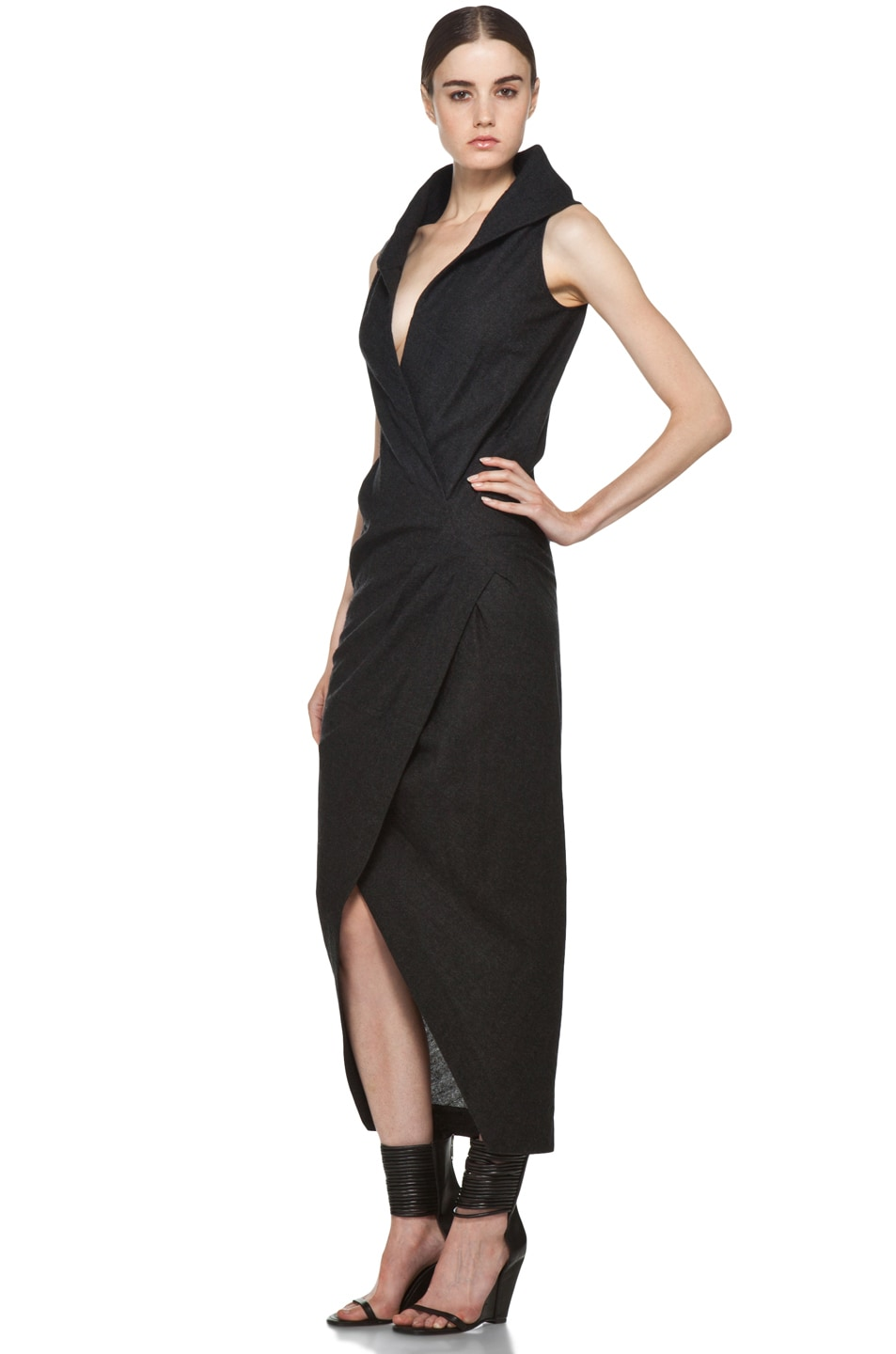 Image 2 of Rick Owens Marella Dress in Black