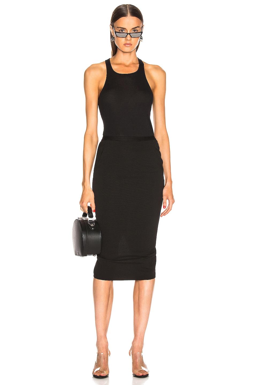 Image 4 of Rick Owens Soft Pillar Short Skirt in Black
