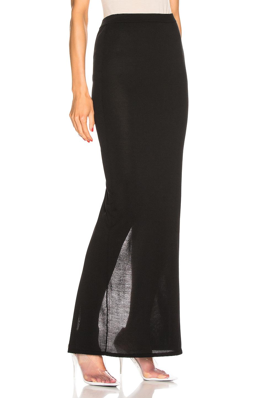 Image 2 of Rick Owens Pillar Skirt in Black