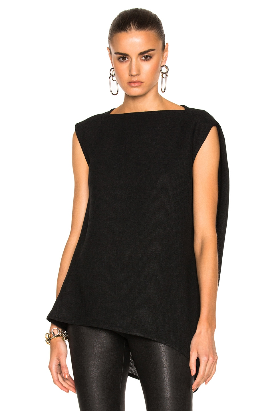 Image 1 of Rick Owens Nouveau Top in Black