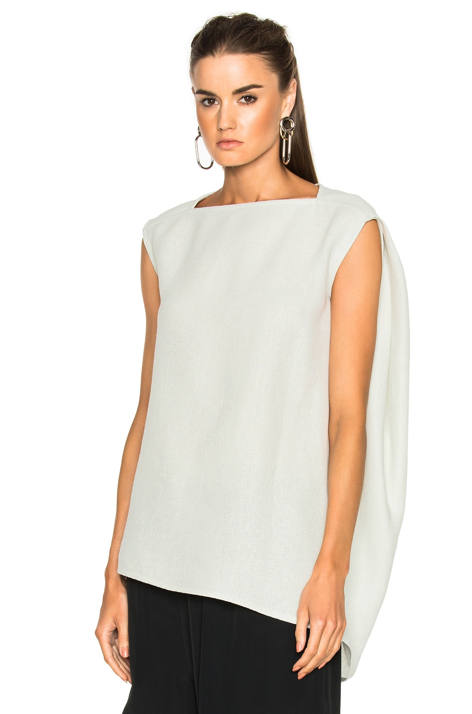 Image 1 of Rick Owens Nouveau Top in Dinge