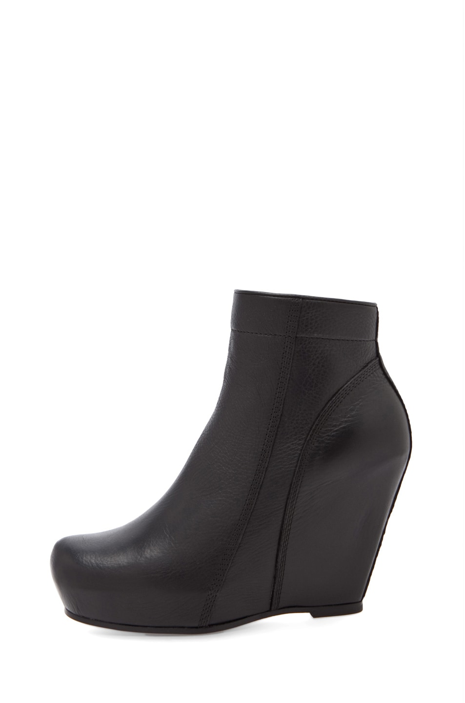 Image 1 of Rick Owens Regular Wedge in Black