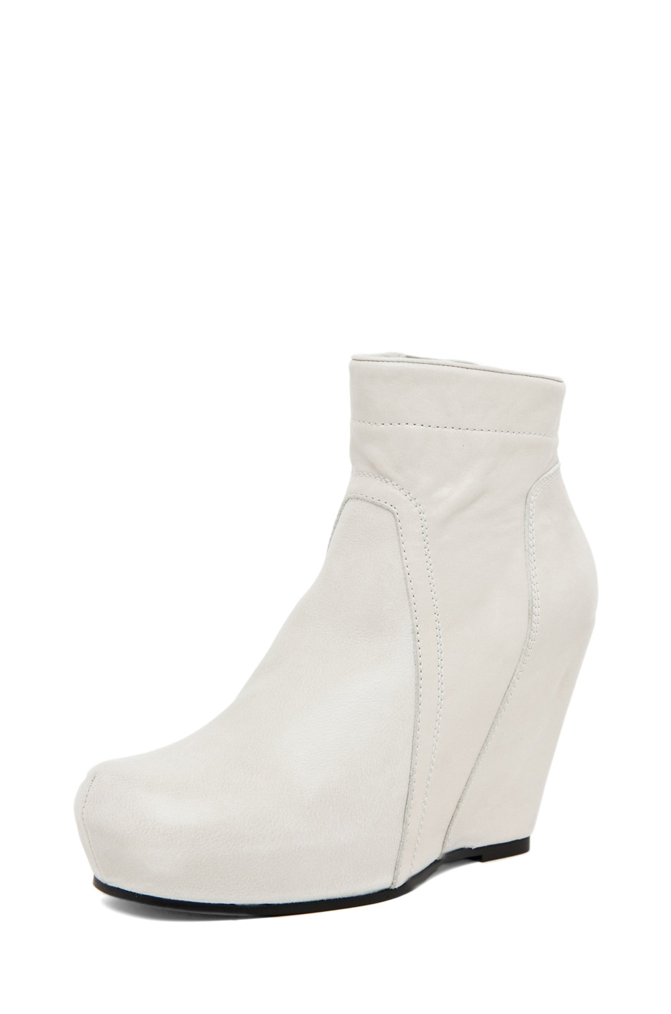 Image 2 of Rick Owens Regular Wedge in Pearl