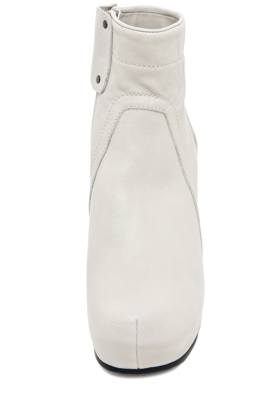 Image 4 of Rick Owens Regular Wedge in Pearl