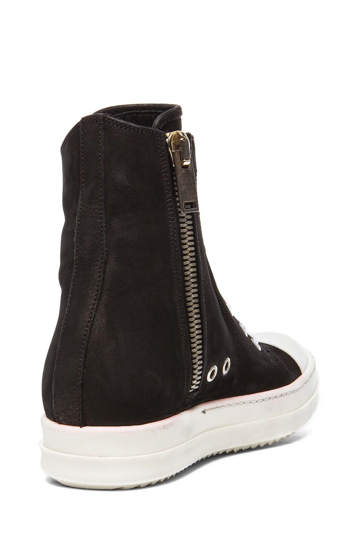 Rick Owens Burgundy Suede Sneakers 6lnrdkpug