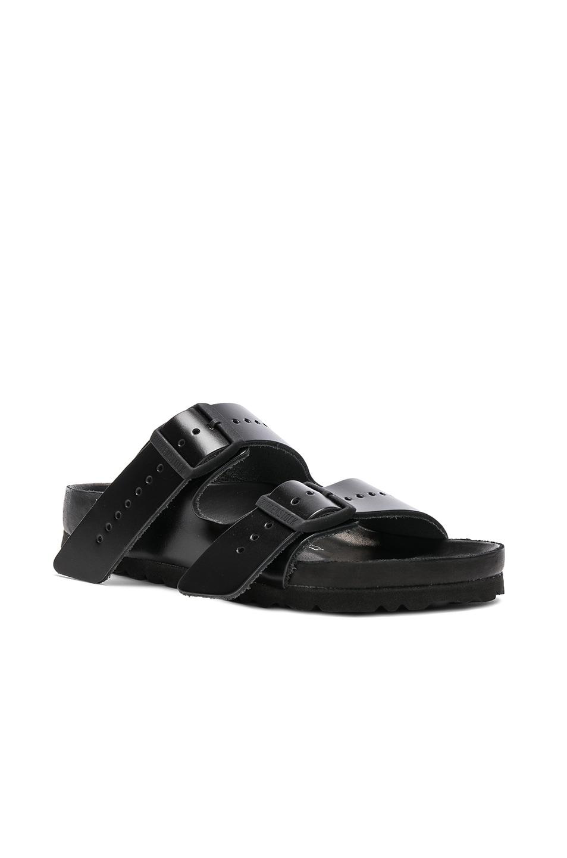 Image 2 of Rick Owens x Birkenstock Arizona Sandals in Black
