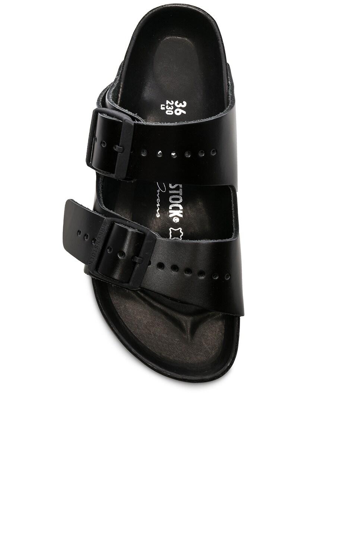 Image 4 of Rick Owens x Birkenstock Arizona Sandals in Black