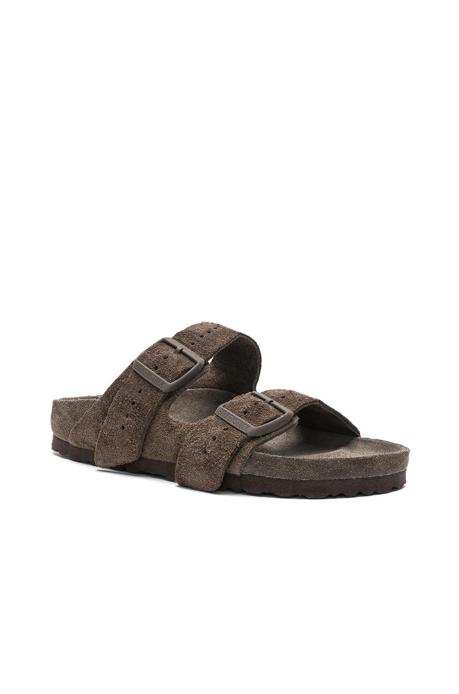Image 2 of Rick Owens x Birkenstock Arizona Sandals in Dust