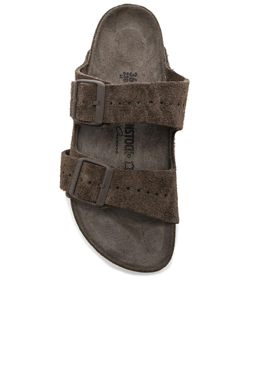Image 4 of Rick Owens x Birkenstock Arizona Sandals in Dust