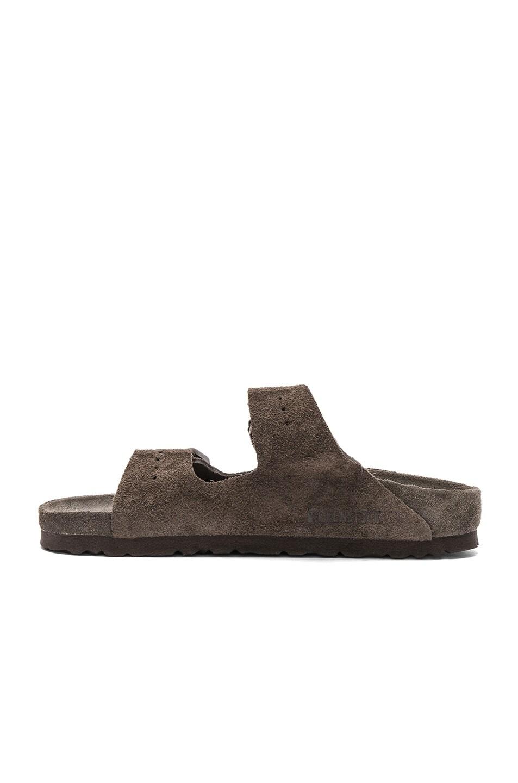 Image 5 of Rick Owens x Birkenstock Arizona Sandals in Dust