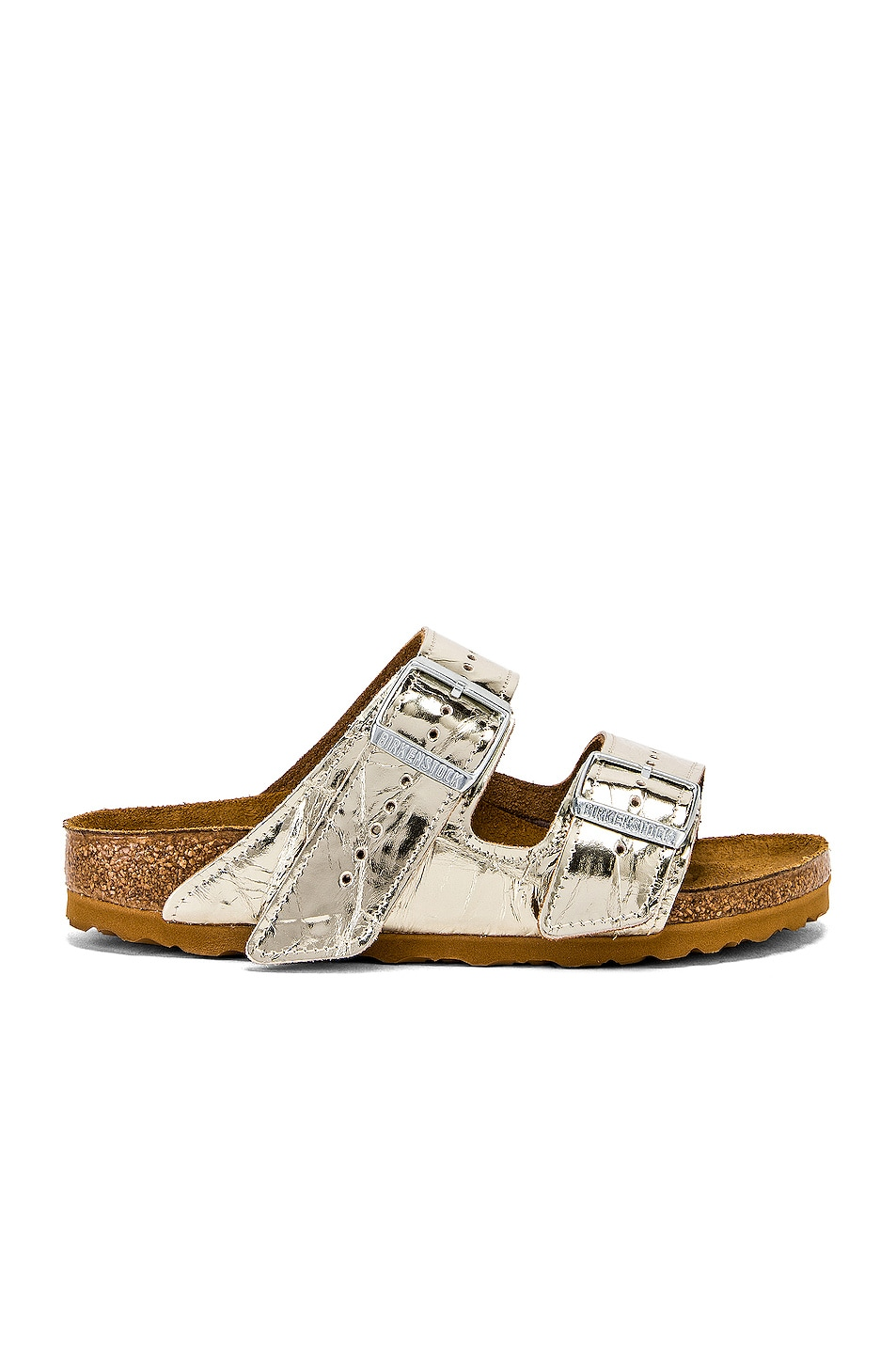 Image 1 of Rick Owens x Birkenstock Arizona Sandal in Gold