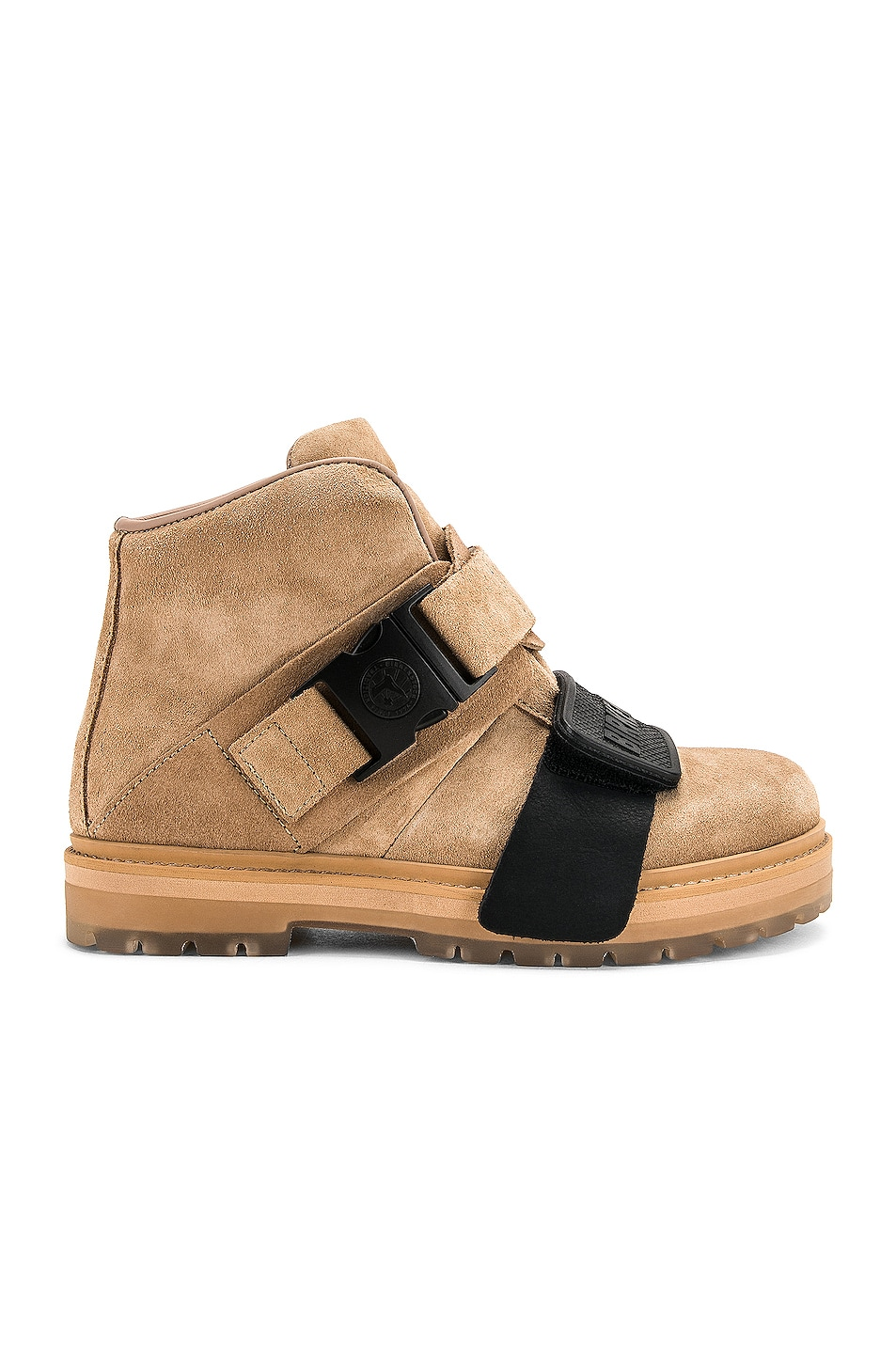 Image 1 of Rick Owens Hancock Rotterhiker Boot in Natural & Black