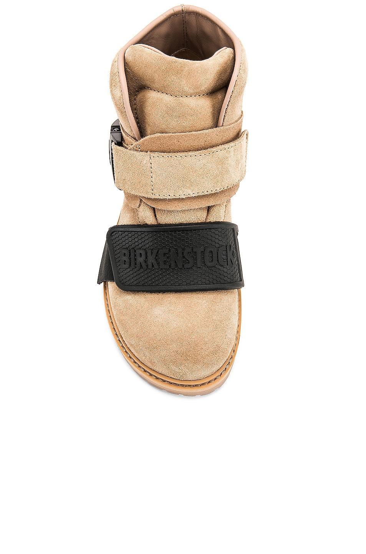 Image 4 of Rick Owens Hancock Rotterhiker Boot in Natural & Black