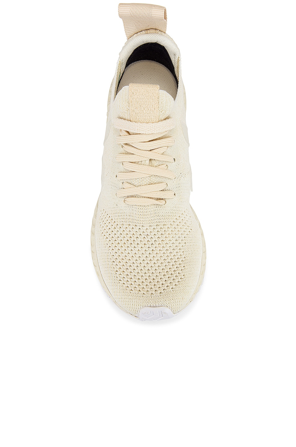 Image 4 of Rick Owens Veja Low Sock Sneaker in White
