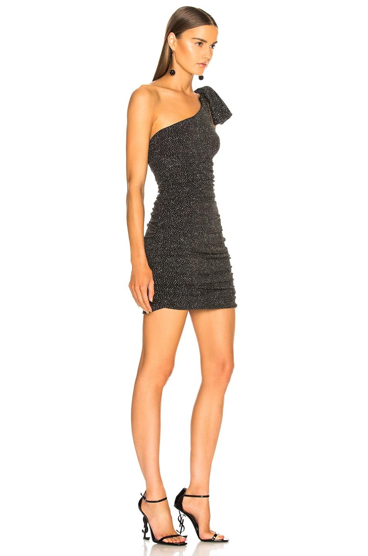 Image 2 of Redemption One Shoulder Dress in Silver