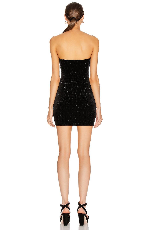 Image 3 of Redemption Glitter Mini Dress in Black