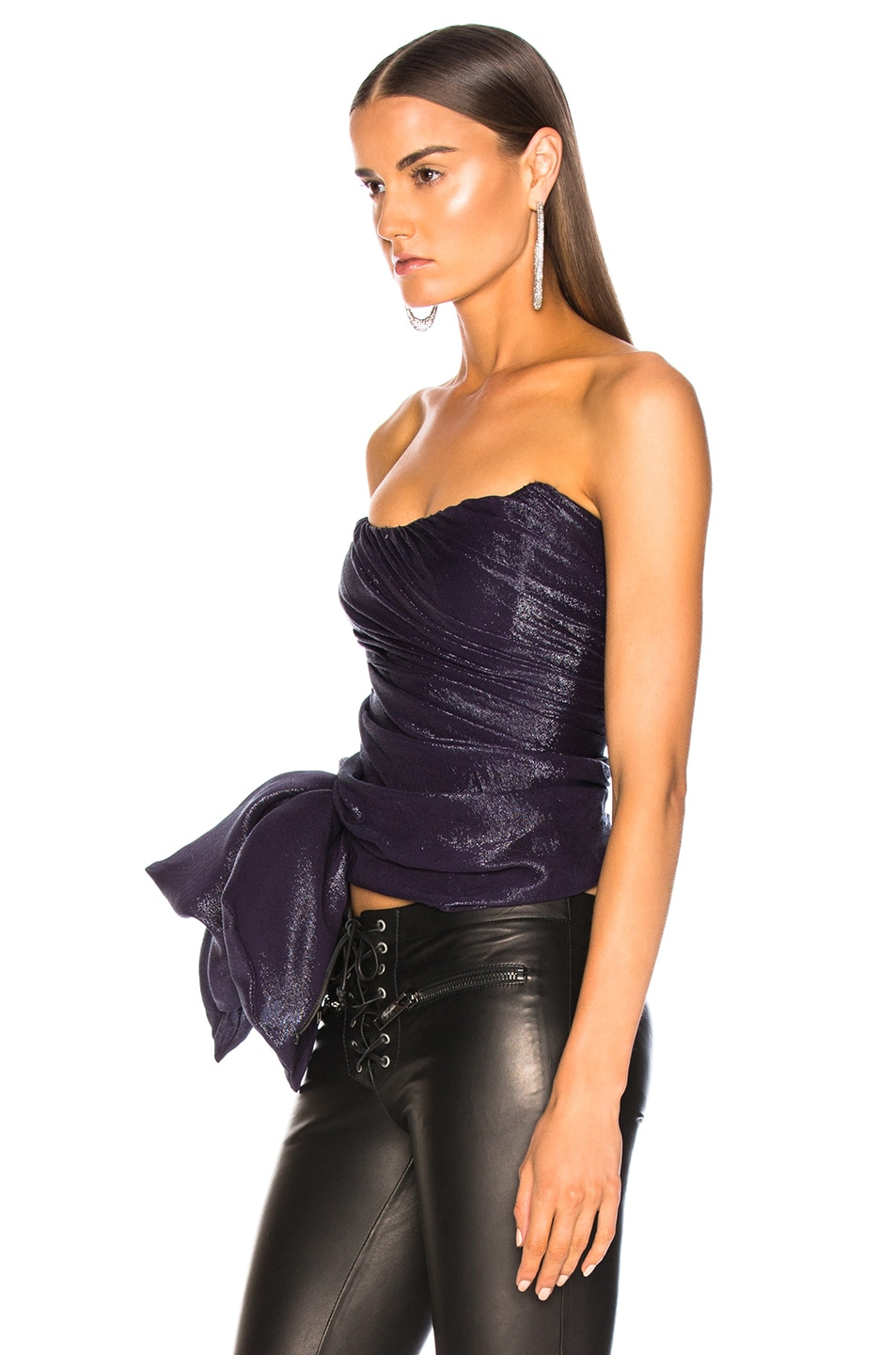 Image 3 of Redemption for FWRD Corset in Purple