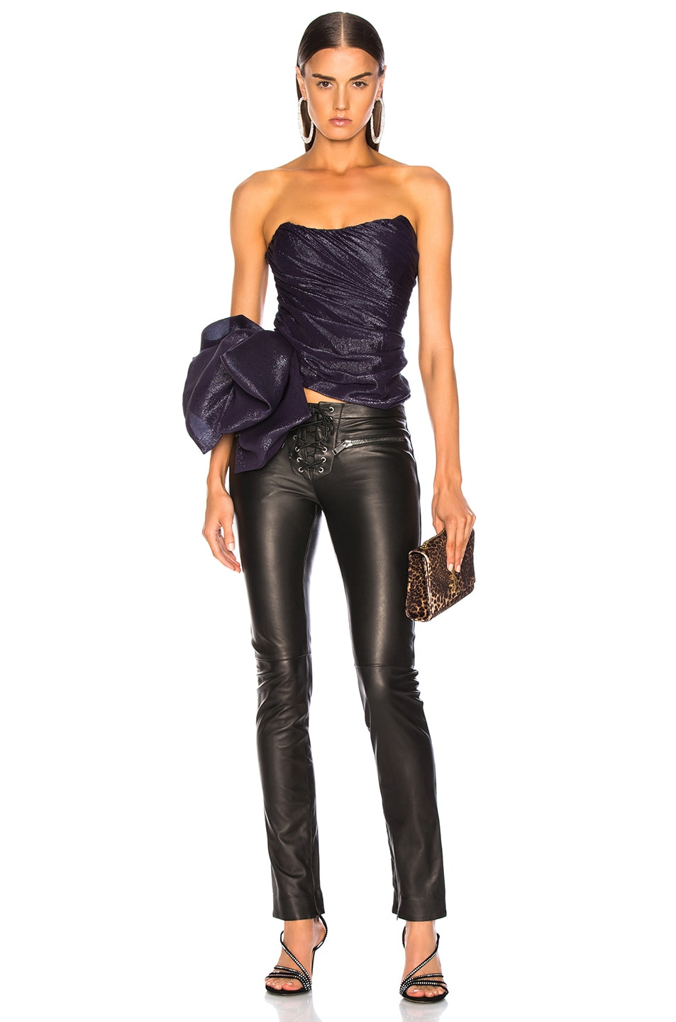 Image 5 of Redemption for FWRD Corset in Purple
