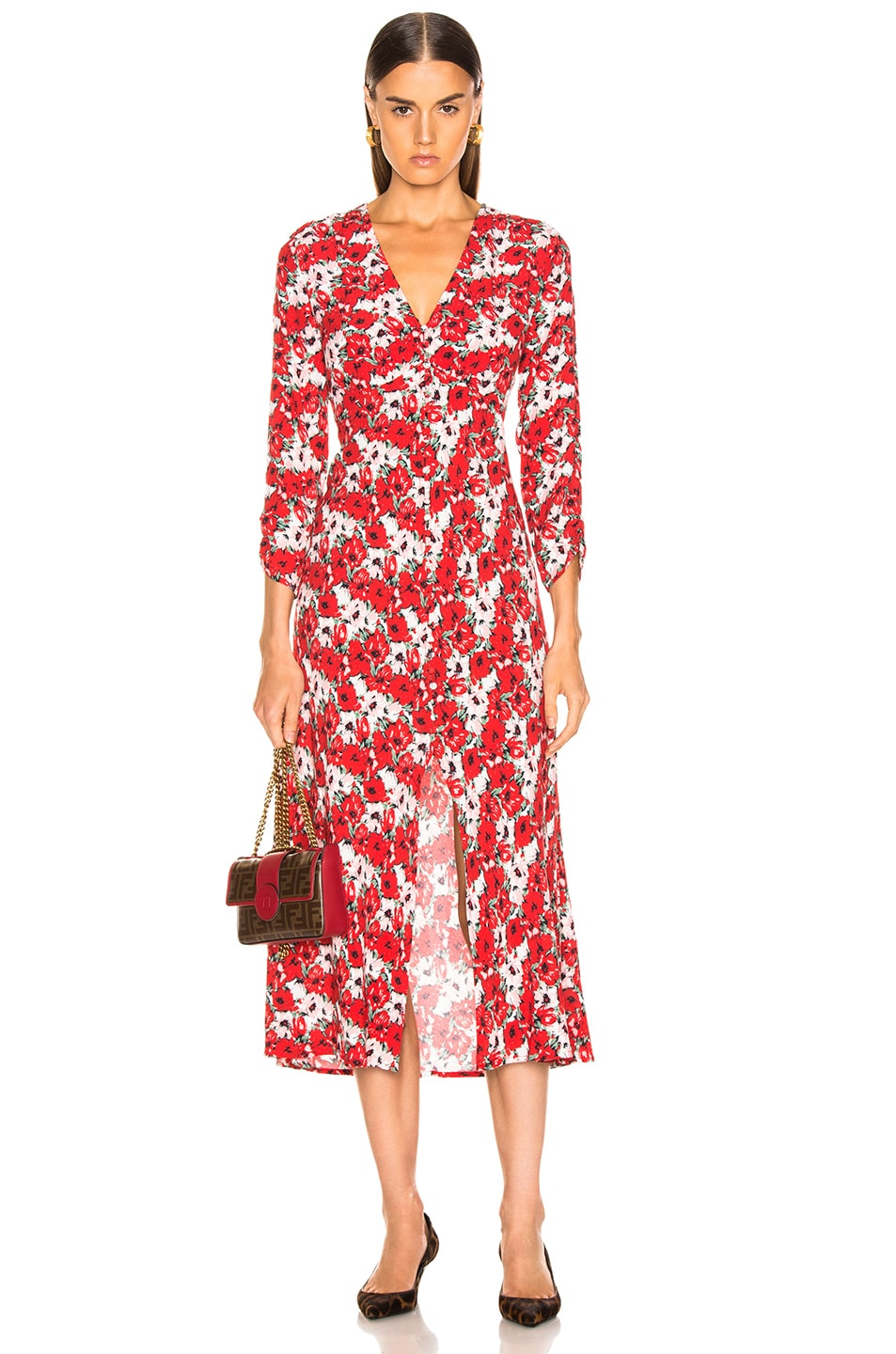 Image 1 of RIXO Katie Dress in Diana Floral