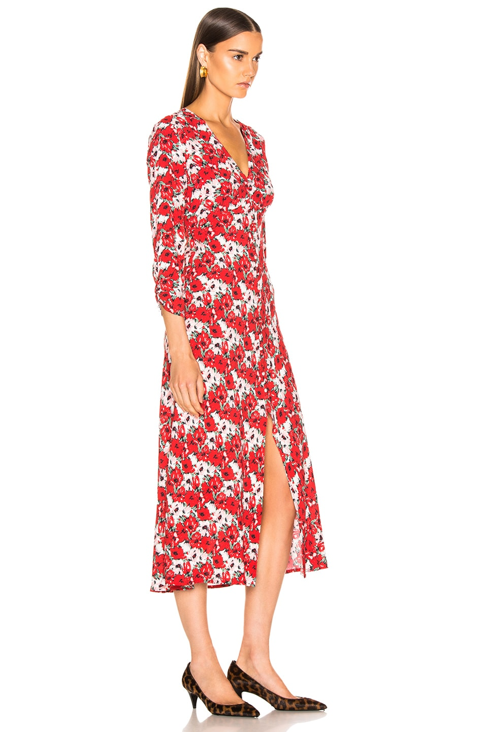 Image 2 of RIXO Katie Dress in Diana Floral