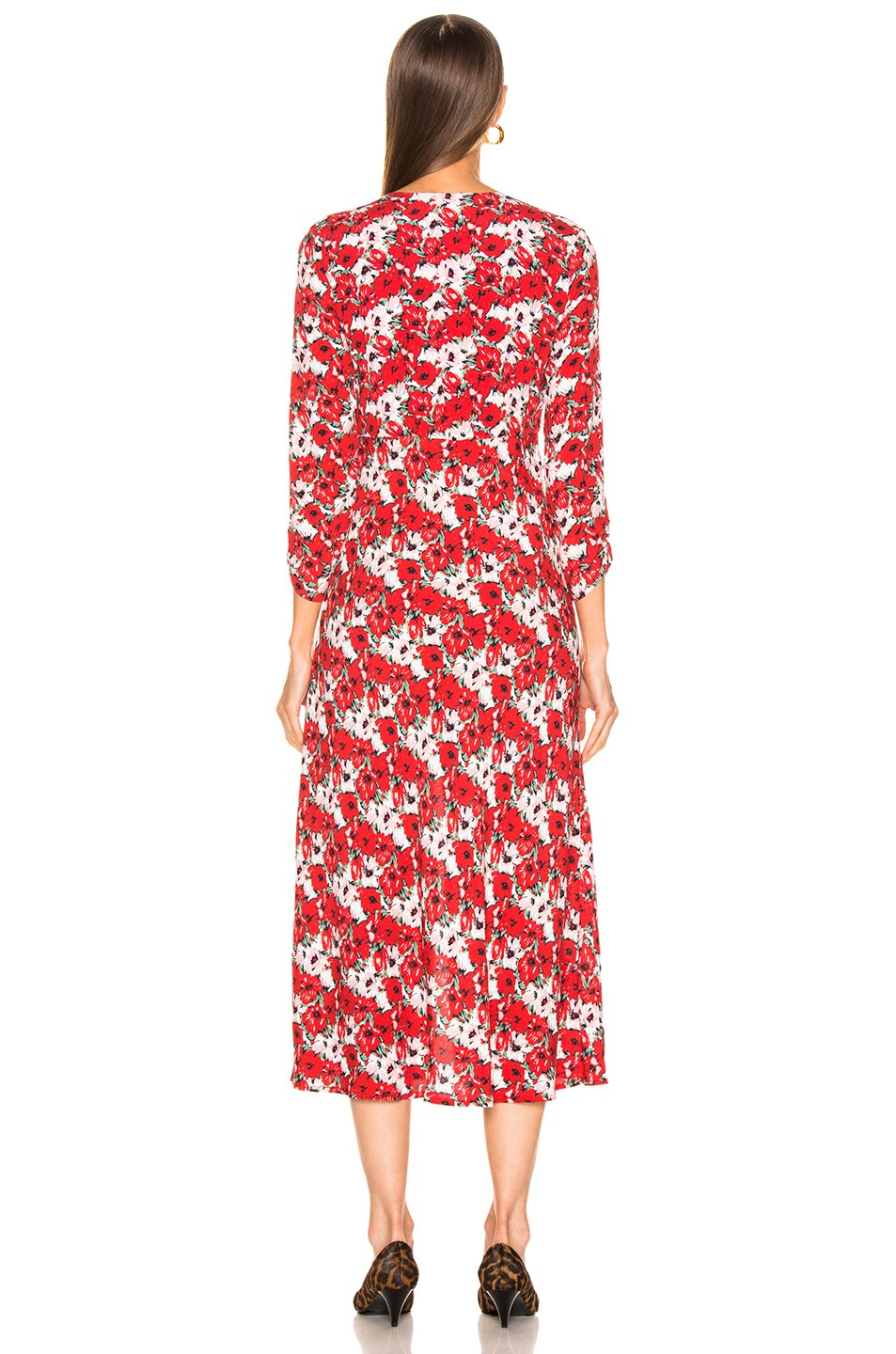 Image 3 of RIXO Katie Dress in Diana Floral