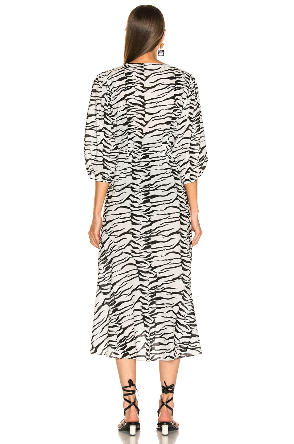 Image 4 of RIXO Noleen Dress in Mono Tiger