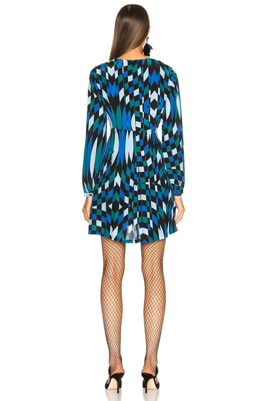 Image 3 of RIXO Harper Dress in Bullseye