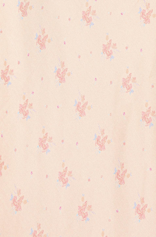 Image 4 of RIXO Nadia Midi Dress in Buttercup Peach & Cream