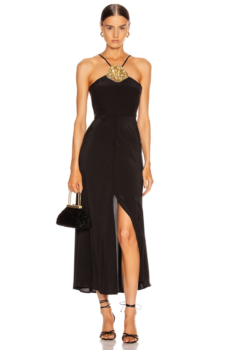 Image 1 of RIXO Lana Dress in Black