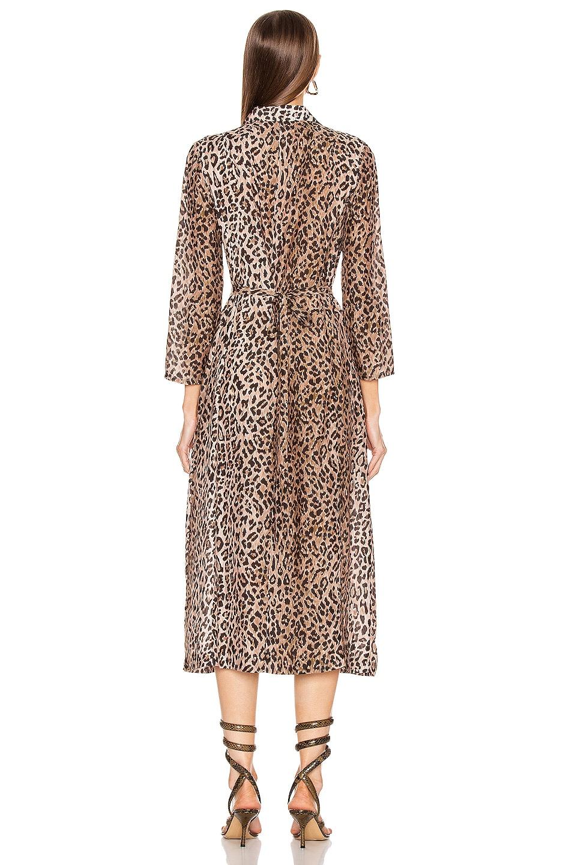 Image 4 of RIXO Sienna Dress in Leopard