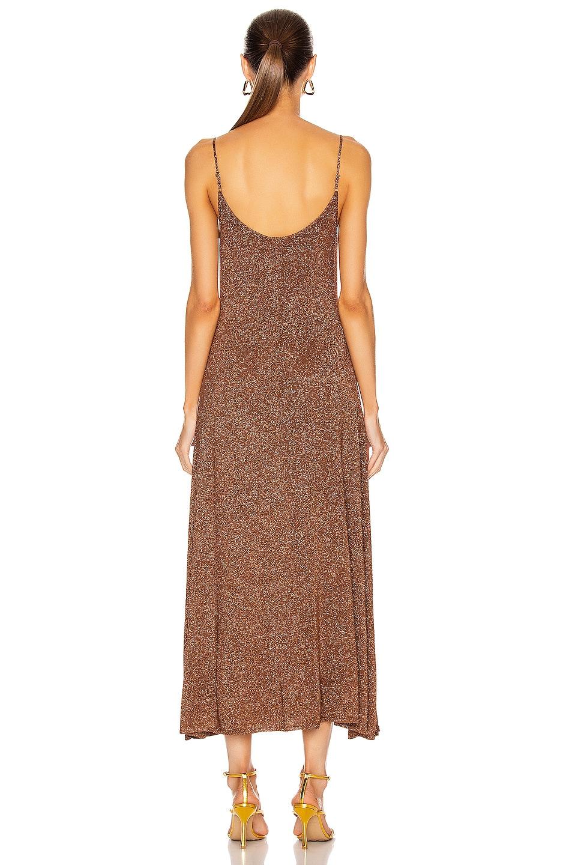 Image 3 of RIXO Scarlett Dress in Gold