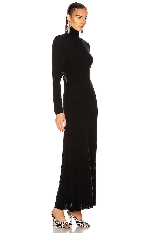 Image 3 of RIXO Antonia Dress in Black