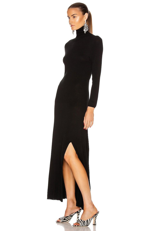 Image 4 of RIXO Antonia Dress in Black