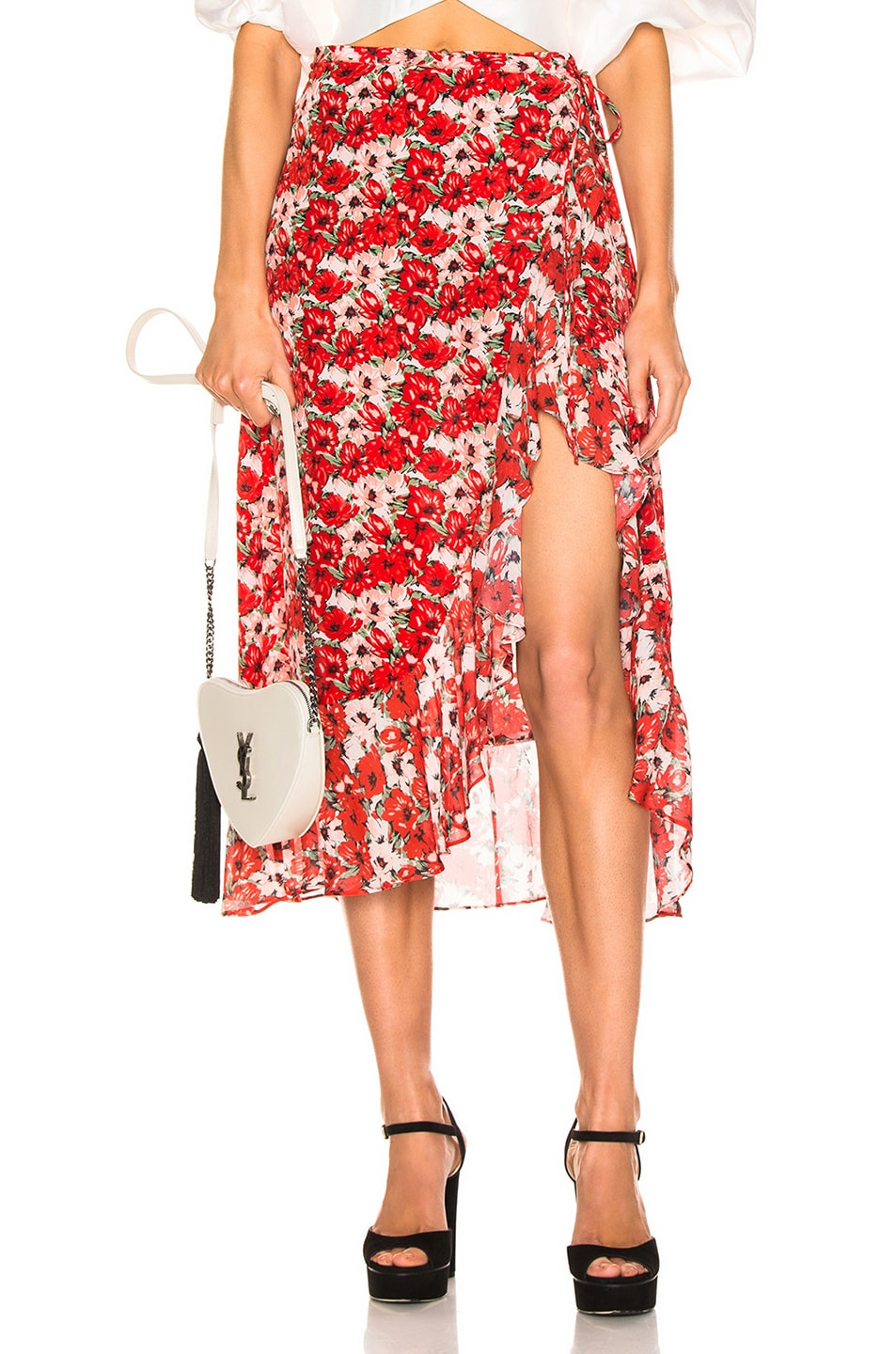 Image 1 of RIXO Gracie Skirt in Diana Floral