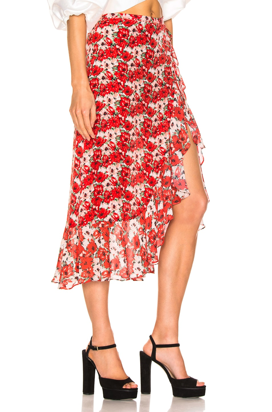 Image 2 of RIXO Gracie Skirt in Diana Floral