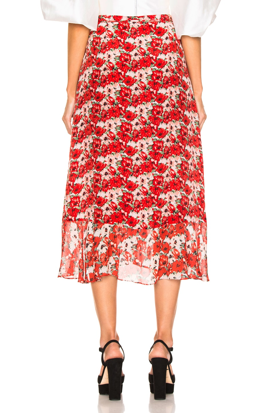 Image 4 of RIXO Gracie Skirt in Diana Floral