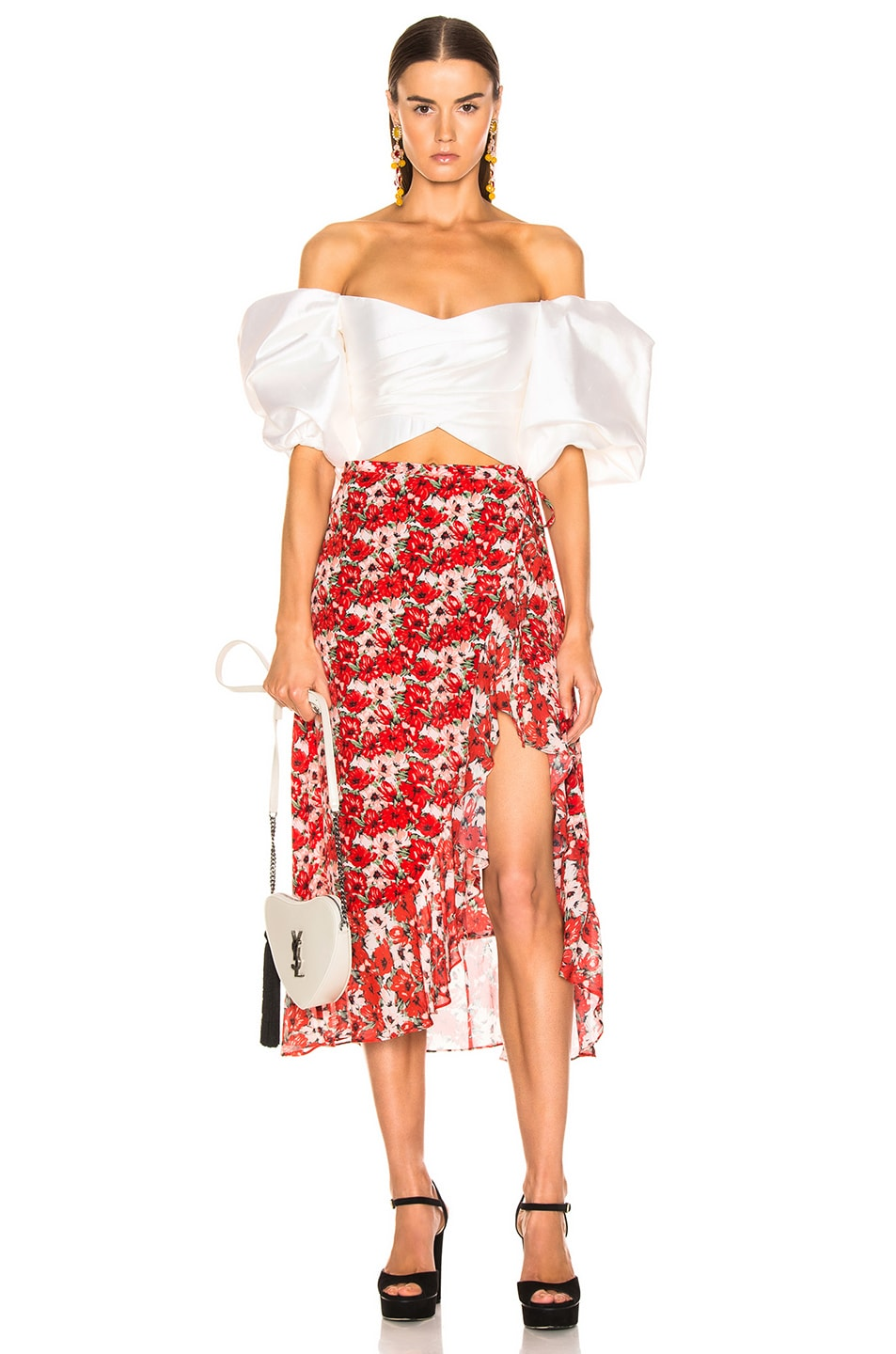 Image 5 of RIXO Gracie Skirt in Diana Floral