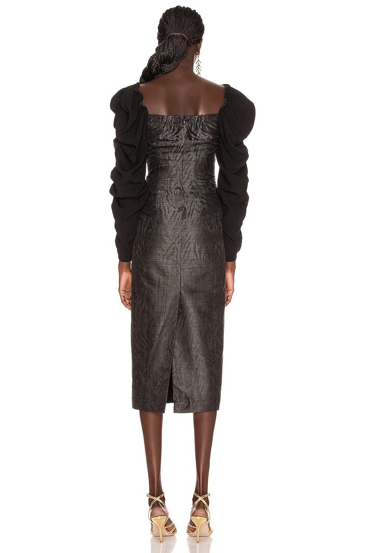 Image 3 of REJINA PYO Betty Dress in Black