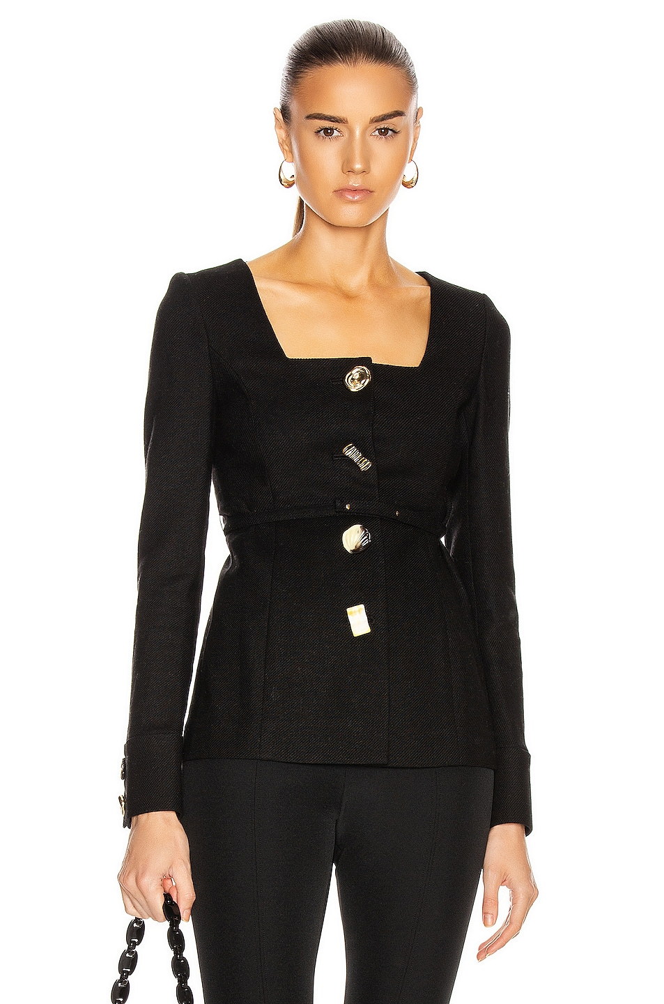 Image 1 of REJINA PYO Martina Jacket in Black