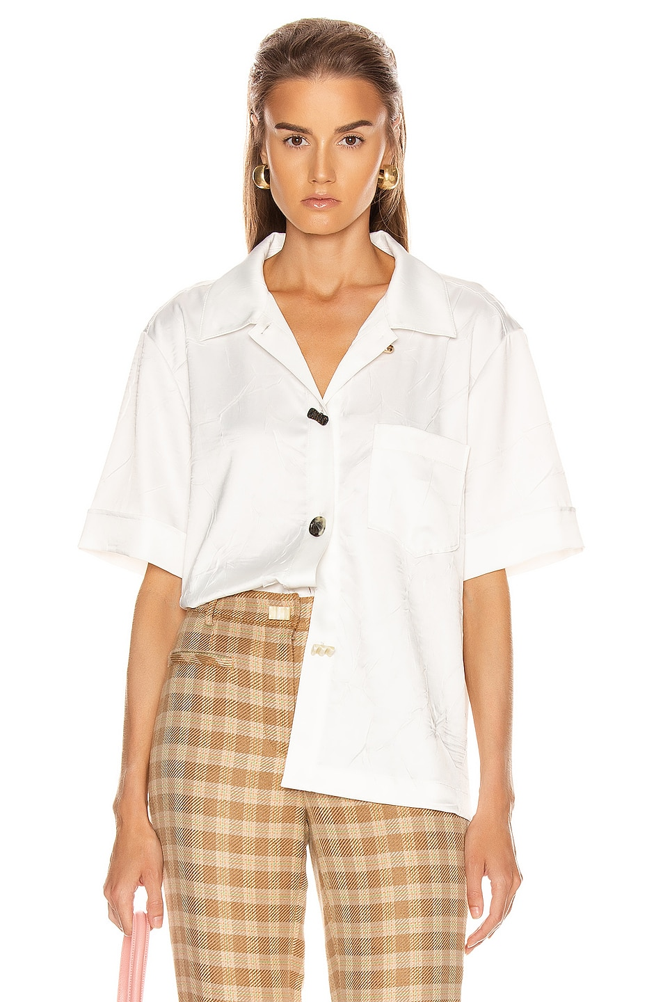 Image 1 of REJINA PYO Nico Shirt in Ivory
