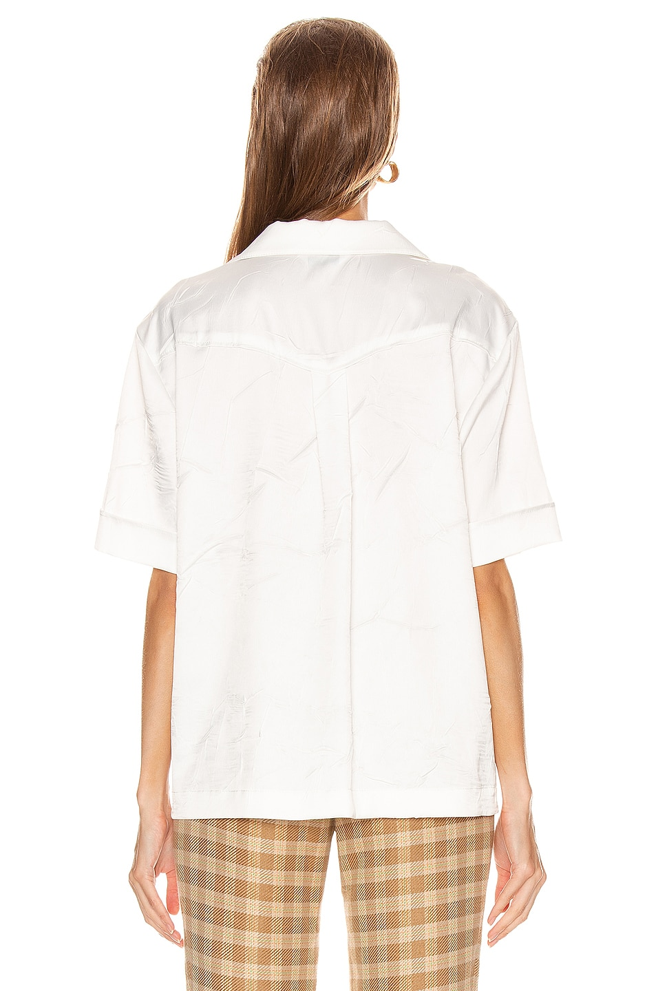 Image 3 of REJINA PYO Nico Shirt in Ivory