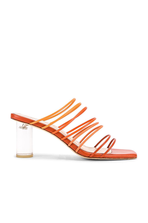 Image 1 of REJINA PYO Zoe 60 Sandal in Ombre Rust