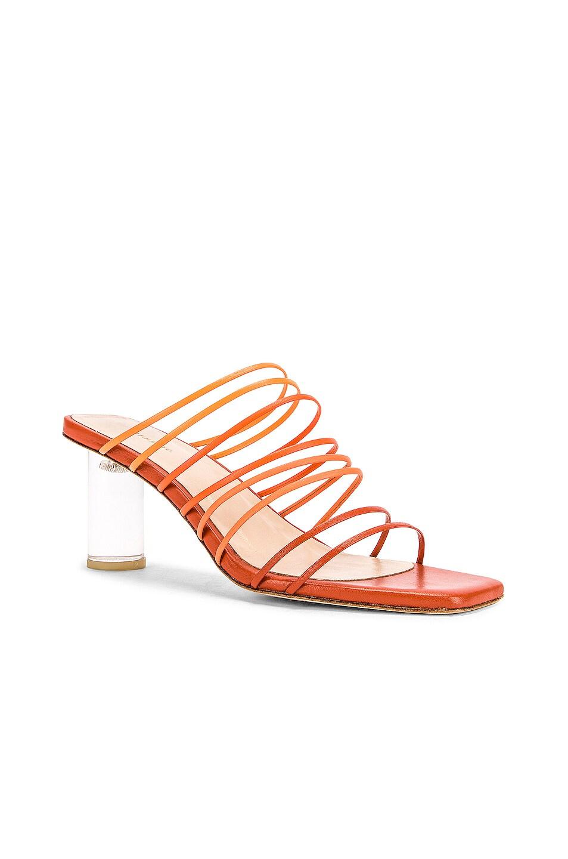 Image 2 of REJINA PYO Zoe 60 Sandal in Ombre Rust