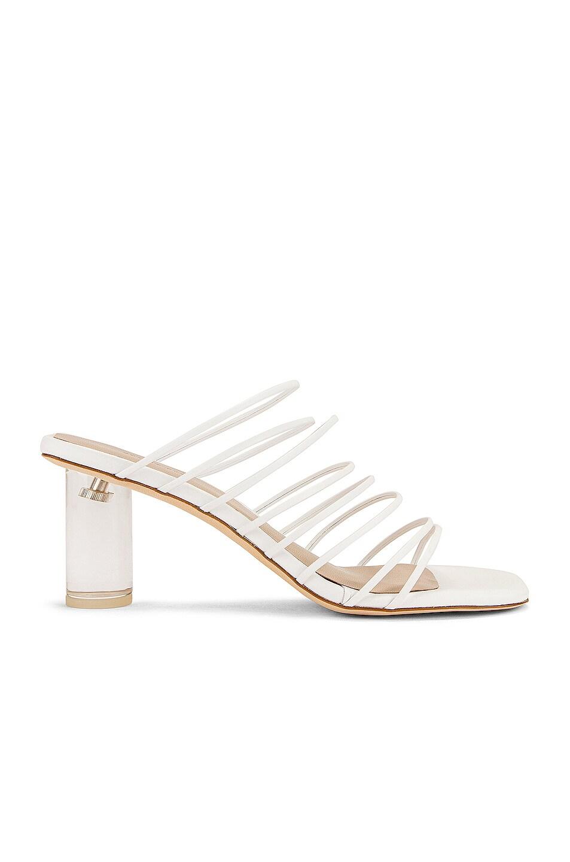 Image 1 of REJINA PYO Zoe 60 Sandal in Leather White