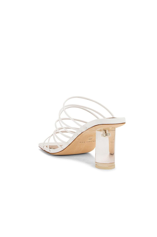 Image 3 of REJINA PYO Zoe 60 Sandal in Leather White