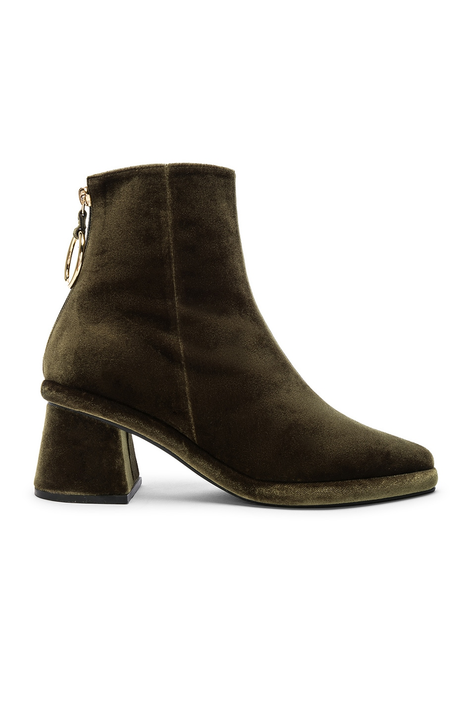 Image 1 of Reike Nen Ring Slim Boots in Green